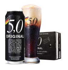 5,0黑啤酒